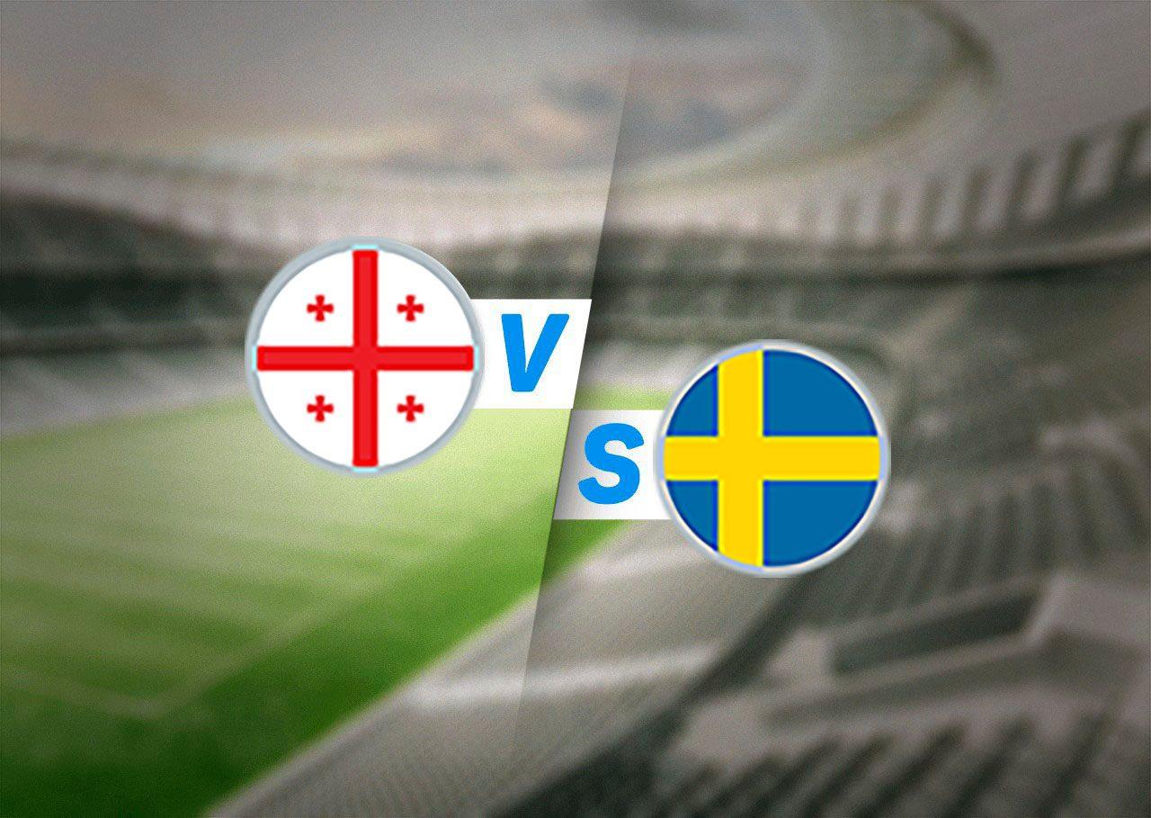 Грузия — Швеция прогноз на матч 11 ноября 2021